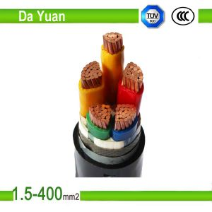4 Core Yjv 3*185+2*95mm2 XLPE/PVC Insulated Electric Cable pictures & photos