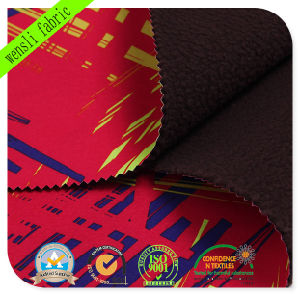 Funtional Printed TPU Bonded Softshell Fabric with SGS Approved (14717-C) pictures & photos