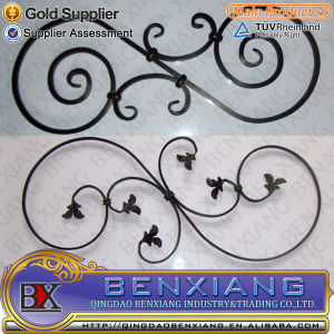 Decoration Home Garden Decorative Wrought Iron Rosette pictures & photos