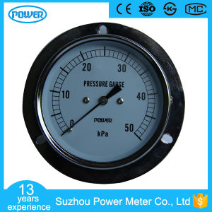 Best Sale 50kpa Bellows Low Pressure Gauge Manometer with Flange pictures & photos