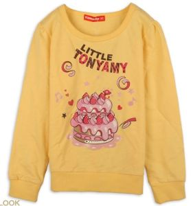 2014 Fashion New Design Long Sleeves Printing T-Shirt for Children, Kids, Girls (YHR-13110)