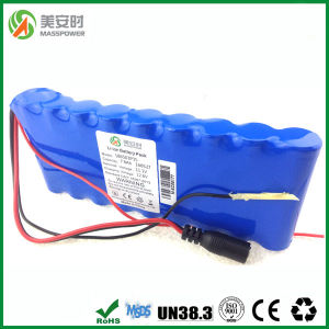 7800mAh 12V Li-ion Battery Pack 3s3p pictures & photos