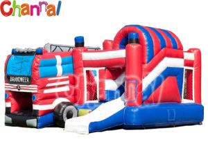 Truck Inflatable Bouncer Combo/Kids Inflatable Bouncer Slide pictures & photos