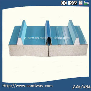 80mm Prepainted Steel Sandwich Panel pictures & photos