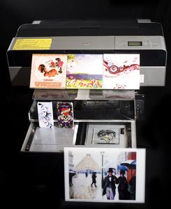 Digital Eco-Solvent Ink Inkjet Flatbed Printer pictures & photos