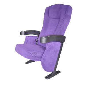 Hall Seating Fabric Theater Chair Hotsale Cinema Seat (EB04) pictures & photos