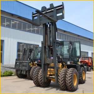 All Wheel Drive Forklift 10 Ton Capacity pictures & photos