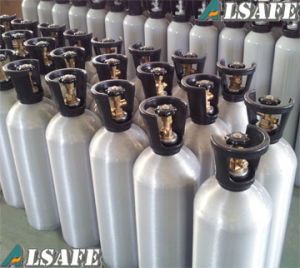 Empty Aluminum CO2 Gas Tanks Pressure pictures & photos
