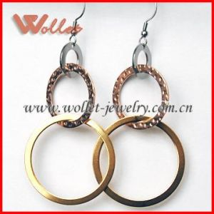 Calabash Stainless Steel Hoop Earrings for Women