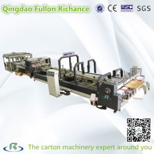 Low Price Automatic Sticking Folding Gluing Machine pictures & photos