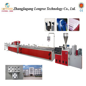 Plastic Extruding Profile Production Line PVC Profile Extrusion Line pictures & photos