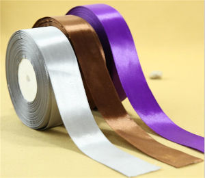 Wholesale Polyester Satin Ribbon for Gift Packing pictures & photos