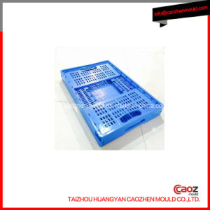 Plastic Foldable Turn Over Box Mould with Lid pictures & photos