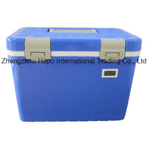 12L Portable Medical Cooler with Thermometer pictures & photos