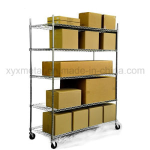 Chrome Mesh Shelf Heavy Duty Roll Rack Wire Shelving pictures & photos