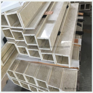 China Beige Marble Engineering Tile for Inner Decoration pictures & photos