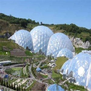 New Type Prefabricated Geodesic Dome Houses with Foam Cover pictures & photos