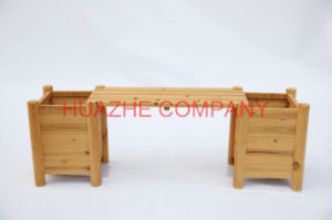 Home Wood Metal Table and Chair Set for Wood Furniture (Hz-MZ067) pictures & photos