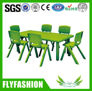 Cute Nursery Furniture Daycare Plastic Kids Table and Chair (SF-08C) pictures & photos