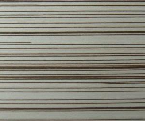 White Zebra Poplar Cheap Price EV Reconstruction Wood Veneer