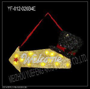 Christmas Letter Brand (YF-012-026B4)