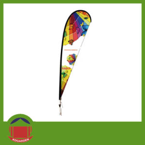 Teardrop Flag Banner with Double Printing pictures & photos