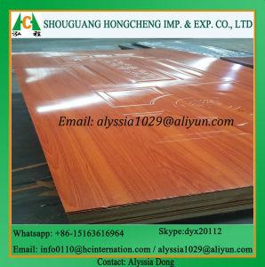 Green Moistureproof HDF Door Skin pictures & photos