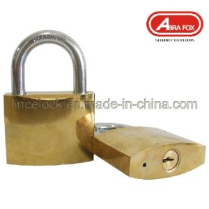 Golden Plated or Chrome Plated Iron Padlock (305) pictures & photos