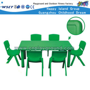 Discount Plastic Preschool Tables and Chairs Sets (HLD-2303) pictures & photos