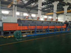 Hot Sale Continuous Mesh Belt Conveyor and Gas Heating Furnace pictures & photos