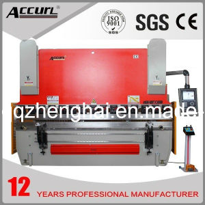 Accurl 2014 New Machinery Hydraulic CNC Brake MB8-63t/4000 Delem Da-66t (Y1+Y2+X+R axis) Bending Machine pictures & photos