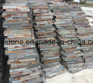 10*40 China Natural P014 Slate Stacked Stone Hhsc10X40-004 pictures & photos