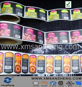 OEM Full Color Food Packing Label Printing pictures & photos