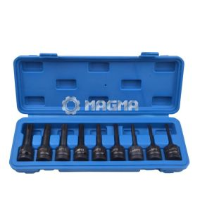 "9 PCS 1/2"" Drive Impact Bit Socket (MG30009A) pictures & photos"