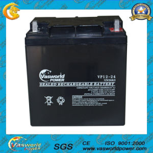 12V24ah AGM Sealded Lead Acid Motorcycle Battery pictures & photos