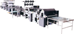 Automatic Reel to Sheet Super High Speed Flexo Exercise Ruling Machine pictures & photos