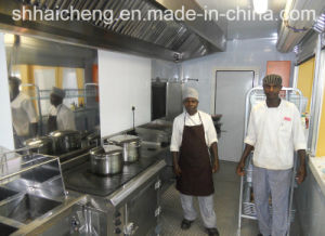 Professional Lpcb Certification Manufacturer Container Modified Kitchen (shs-mc-kitchen001) pictures & photos