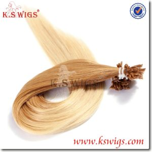 High Qauality Remy Keratin U-Tip Human Hair pictures & photos