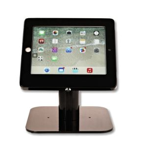 Tablet Desktop Stand with a Locking Enclosure pictures & photos