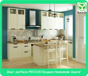 White High Gloss Kitchen Cabinet Door pictures & photos