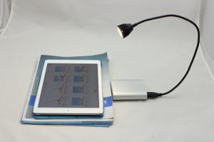 2W Portable LED Reading Light with USB pictures & photos