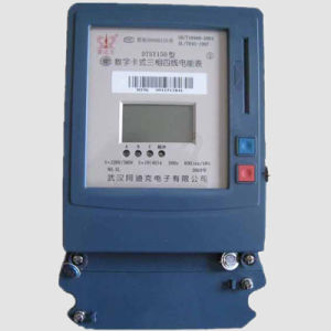 Three Phase Three Wires Prepayment Electric Energy Meter (DSSY150) pictures & photos