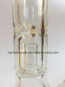 14 Inch Splash Guard Borocilicate Glass Smoking Water Pipes Glass Handicrafts pictures & photos