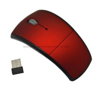 2.4GHz Foldable Wireless Optical Mouse for PC Laptop pictures & photos