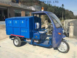 Factory Sales Electric Garbage Tricycle for Cargo pictures & photos