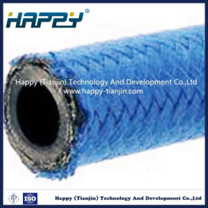 R5 Nylon Fiber Braided Hydraulic Rubber Hose pictures & photos