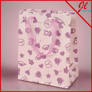 Baby Things Textured Euro Tote Gift Paper Bags pictures & photos