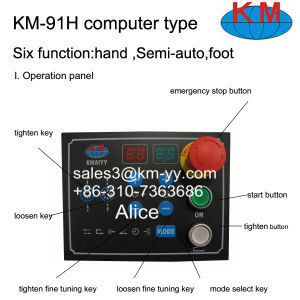 Equal to Finn Power Hose Crimping Machine. Km-91h-Computer Type pictures & photos
