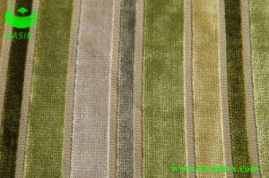 Furniture Stripe Velvet Sofa Fabric (BS4007) pictures & photos