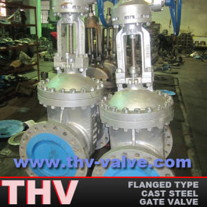 High Pressure Cast Steel Flanged End Wedged Gate Valve